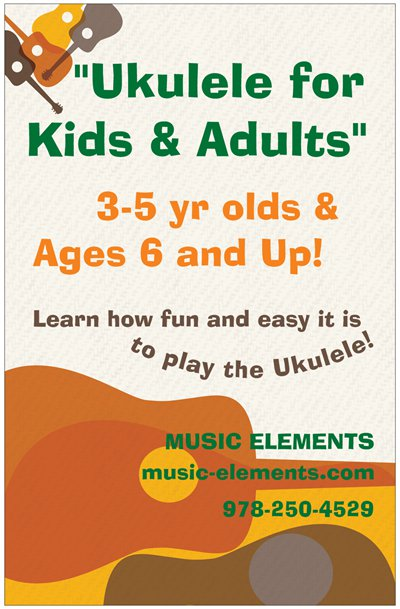 Ukulele for kids and adults